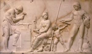 Venus, Mars en Vulcanus, de smid